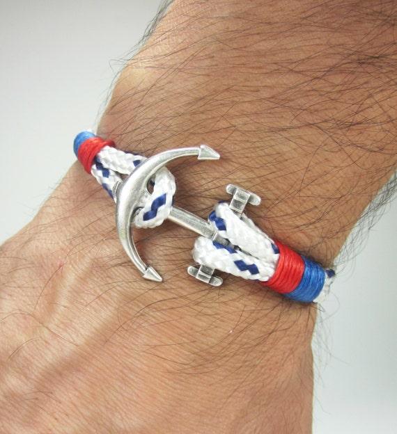 express shipping paracord anchor bracelet men 39 s bracelet. Black Bedroom Furniture Sets. Home Design Ideas