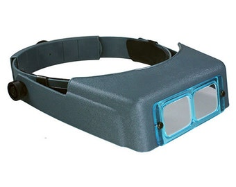 Optivisor Headband Magnifier (Choose Your Magnification) (29.47X)