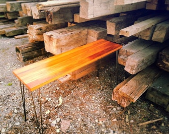 Reclaimed Pine Console Table