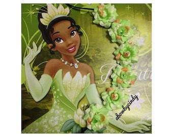 Tiana / Princess and the Frong / Disney / Flower Halo / Crown / Headband