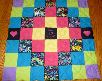 Ten Ways to Love Quilt