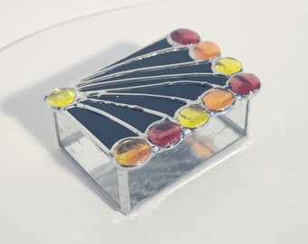 Custom Handmade Stained Glass Box