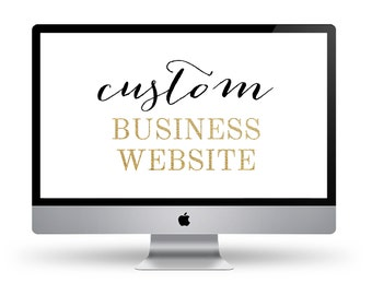 Website Design / Custom Website / Business Website Design
