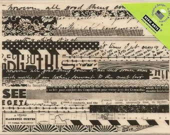 Hero Arts Woodblock Mounted Rubber Stamps ~ Pattern Stripes, HA-K5884 DISCONTINUED!