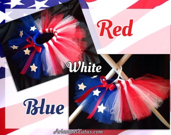 Red white & blue Tutu Infants, Toddlers, Children