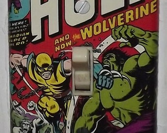 Incredible Hulk / Wolverine Light Switch Cover Plate - Incredible Hulk 181