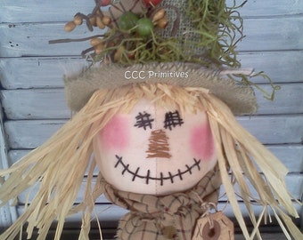 Primitive Pattern - Scarecrow Nodder E-Pattern - Primitive Scarecrow Rusty Spring - Primitive Fall Pattern - Scarecrow Pattern