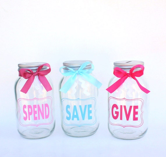 love this idea of a piggy techriverku3.gqen's Personalized Painted/Distressed Give/Save/Spend Mason Jar Bank Find this Pin and more on Give, Save, Spend by The Orthodox Children's Press. DIY your photo charms, compatible with Pandora bracelets.