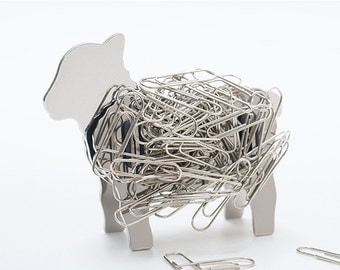 Stainless Steel Magnetic Clip Holder [Sheep]