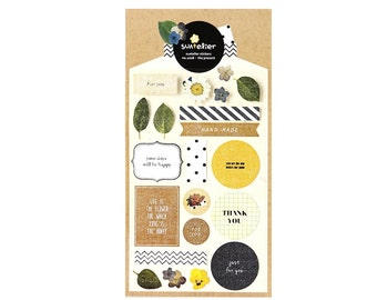 The Present Sticker / For You Leaf Thank You Sticker / 1028 / 101079633