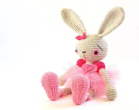 Amigurumi Ballerina Pattern : PATTERN: Ballerina Bunny Crochet tutorial by KristiTullus