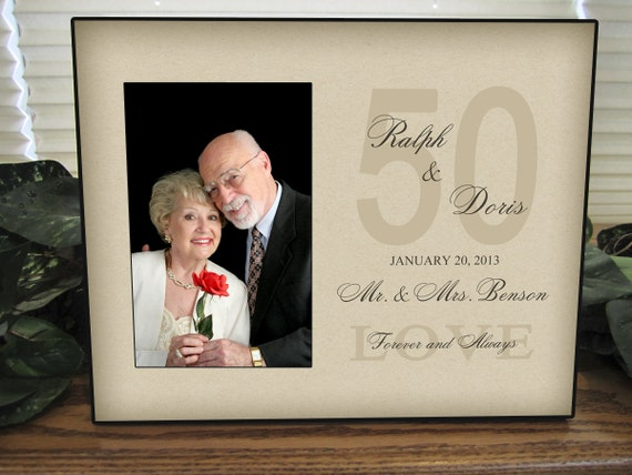 Unique 25th Wedding Anniversary Gifts: Personalized 50TH Anniversary Gift 25TH Anniversary 50TH