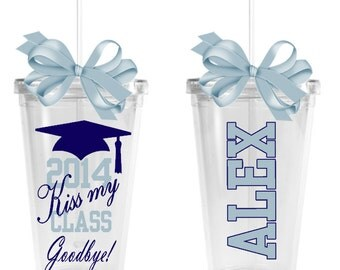 Graduation Tumbler - Kiss My Class Goodbye