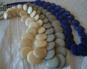 SALE *** Bina collection necklaces made from bone- L *** SALE ***