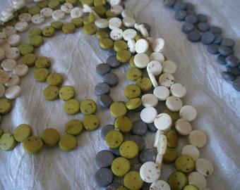 SALE ***  Zigzag necklace made for bone pellets- long size  *** SALE ***