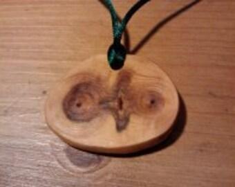 Owl Pendant Handmade but Sculptured by Nature