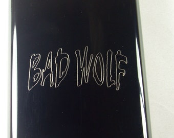 Bad Wolf Flask Black  - Must See! Unique !