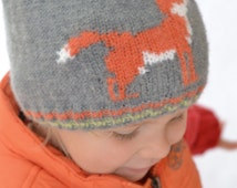Knitting Patterns For Youth Hats : Popular items for flat knit hat on Etsy