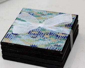 Decorative Porcelain Coasters