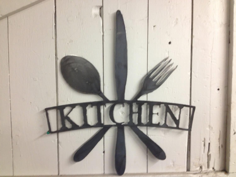 Kitchen Metal Wall Art