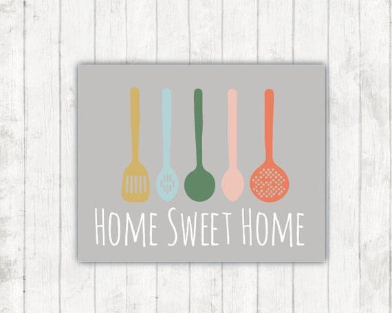 Kitchen print 8x10 or 11x14 home decor kitchen wall art top for 8x10 kitchen designs