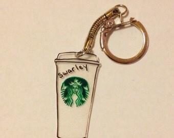 Starbucks Personalized Keychain Charm