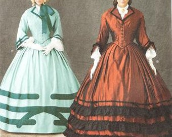 Simplicity 1818 Misses' Civil War Costume Pattern, 8-14