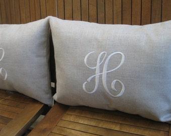 items similar to monogram pillow cover anthropologie. Black Bedroom Furniture Sets. Home Design Ideas