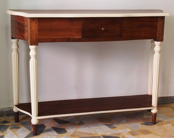 Console Table in two colors