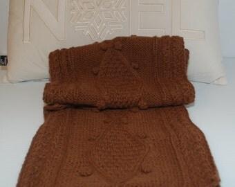 AC0002.1 - Scarf, 100% Baby Alpaca, handmade