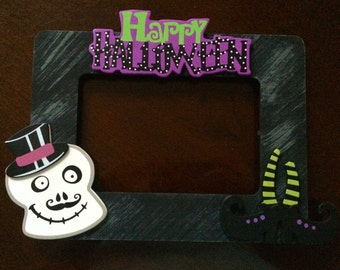 4x6 Halloween Picture Frame / pick your design