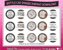 """Country quotes 1"""" circles BOTTLE CAP IMAGES"""