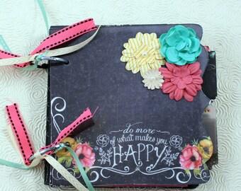 Chalkboard Scrapbook Album