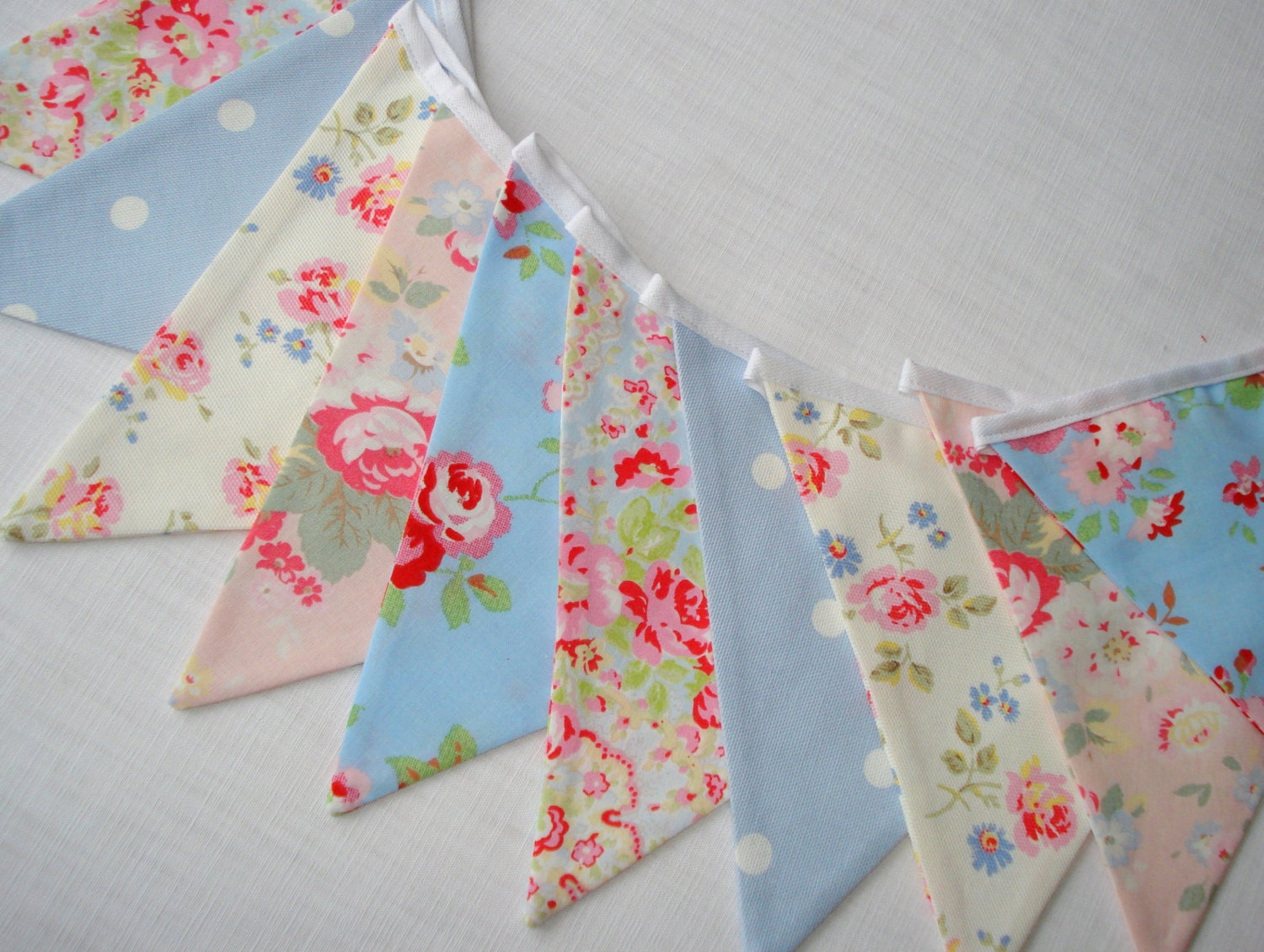 shabby chic bunting - photo #22