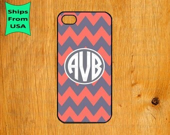Chevron Monogram iPhone 5s Case, iPhone 5c Cover, iPhone 4 4s Cases,iPhone SE Case