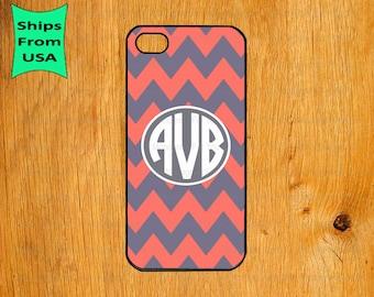 Chevron Monogram iPhone 5s Case, iPhone 5c Cover, iPhone 4 4s Cases,iPhone SE Case