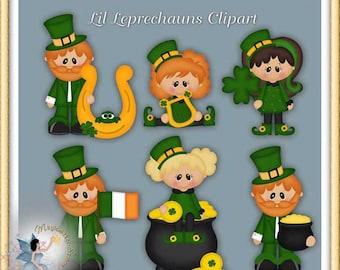 St. Patrick's Day Leprechaun Clipart