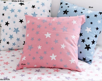 Cotton Fabric Star in 4 Colors By The Yard