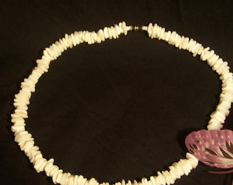 Vintage Mother-of-Pearl Necklace/REDUCED