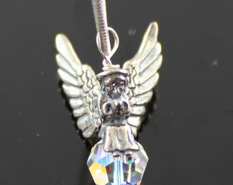 Artisan Kids Little Angel Sterling Silver Necklace