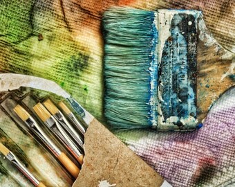 Artist's Tools of the Trade (Paintbrushes)