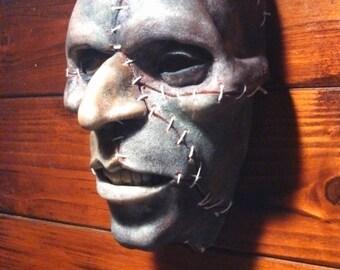 Male Gothic/Punk Zombie Mask