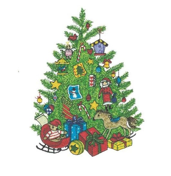 Christmas Embroidery Designs - PES