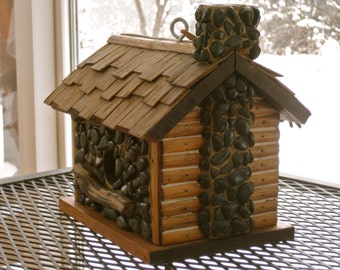 Popular Items For Vintage Bird House On Etsy