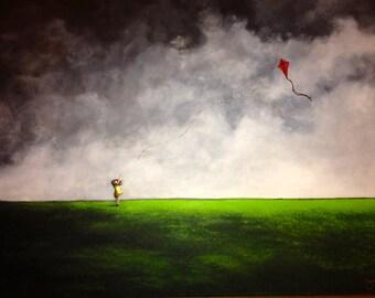 "Fine Art Print by Joelle Cathleen. "" Don't Go. """