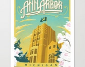 Michigan Union - Ann Arbor Art Print