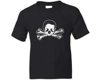 Kids Pirate Shirt - Skull and Bones