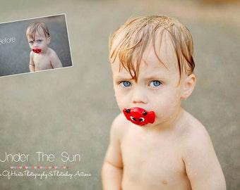 Under The Sun Photoshop Action
