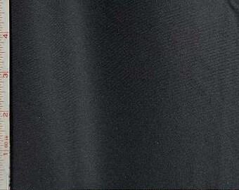 "Black Helenca Interlock Fabric 4 Way Stretch Nylon 4 Oz 56-58"""