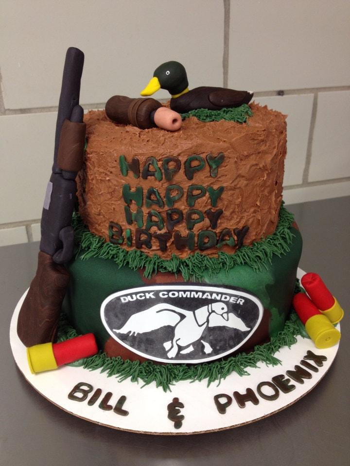 Duck Decoy Cake Topper